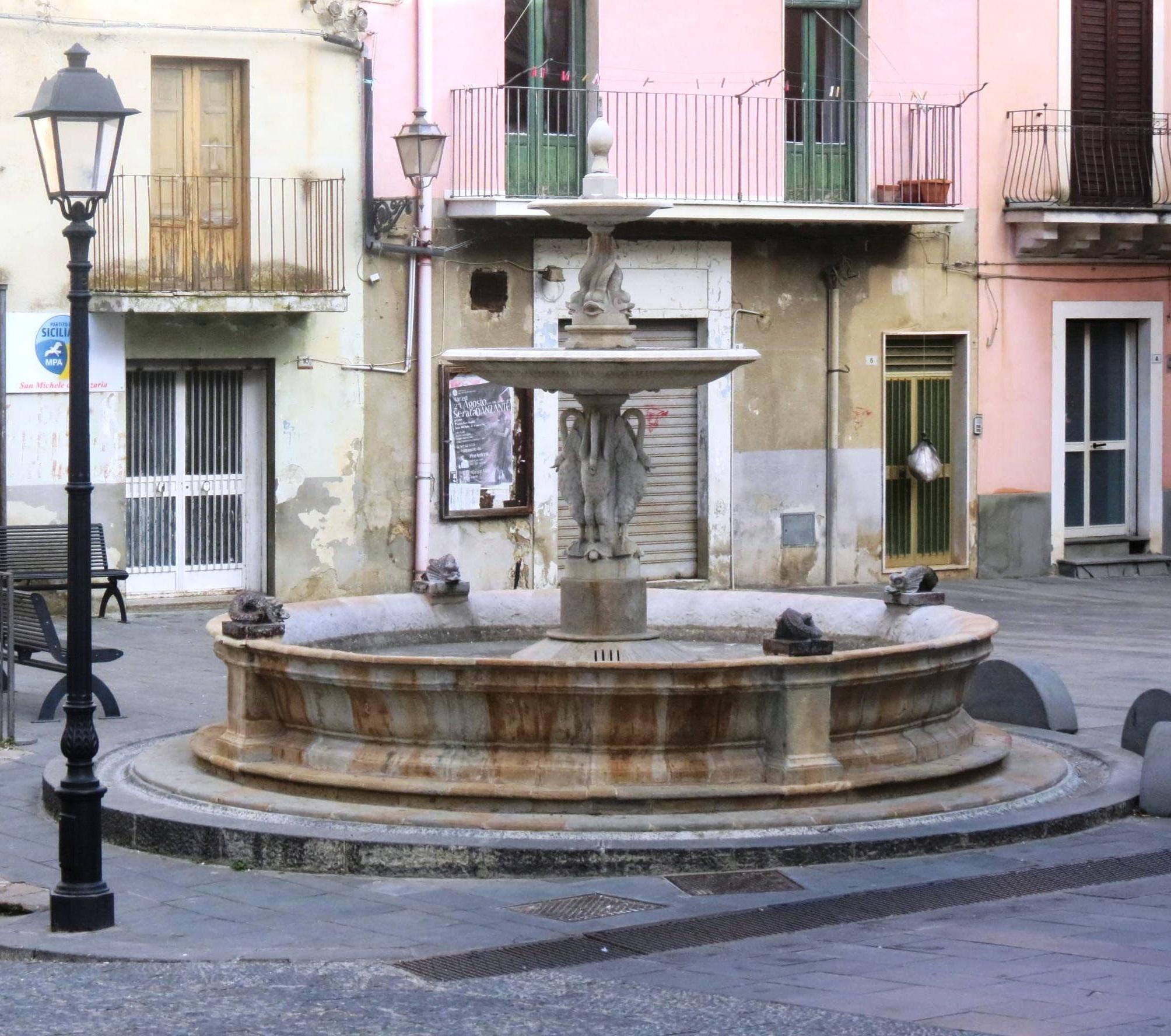 Fontana di San Michele di Ganzaria